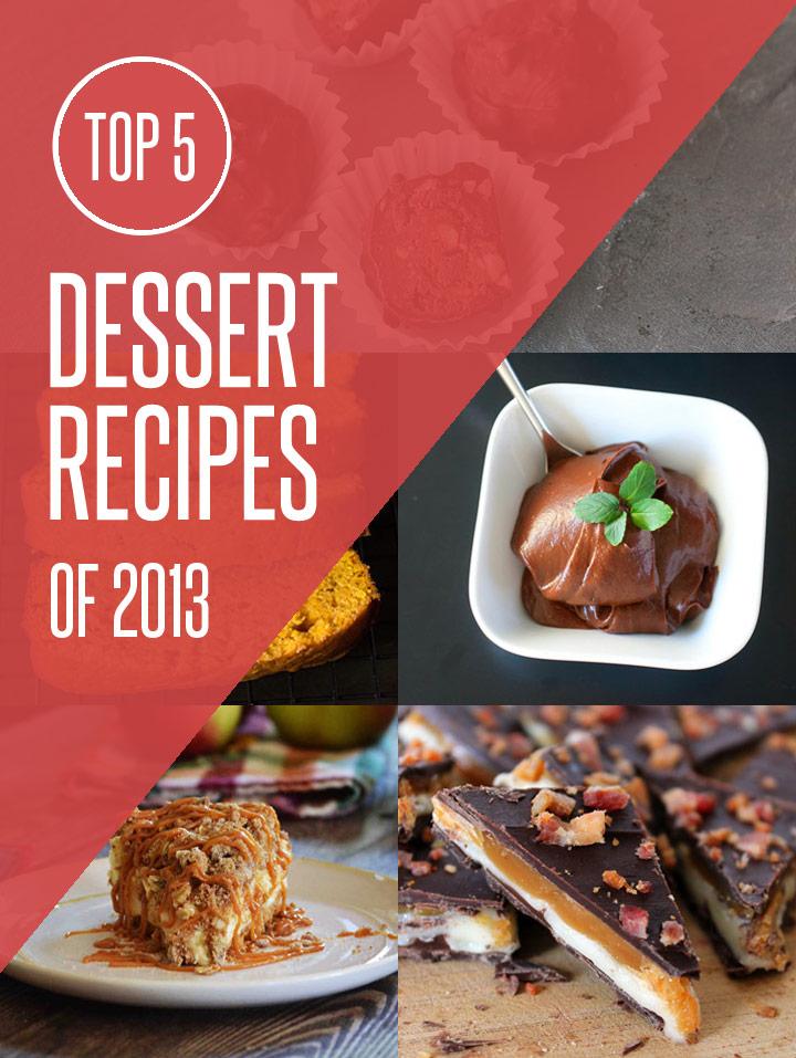 Top 5 Dessert Recipes of 2013 on NoshOn.It