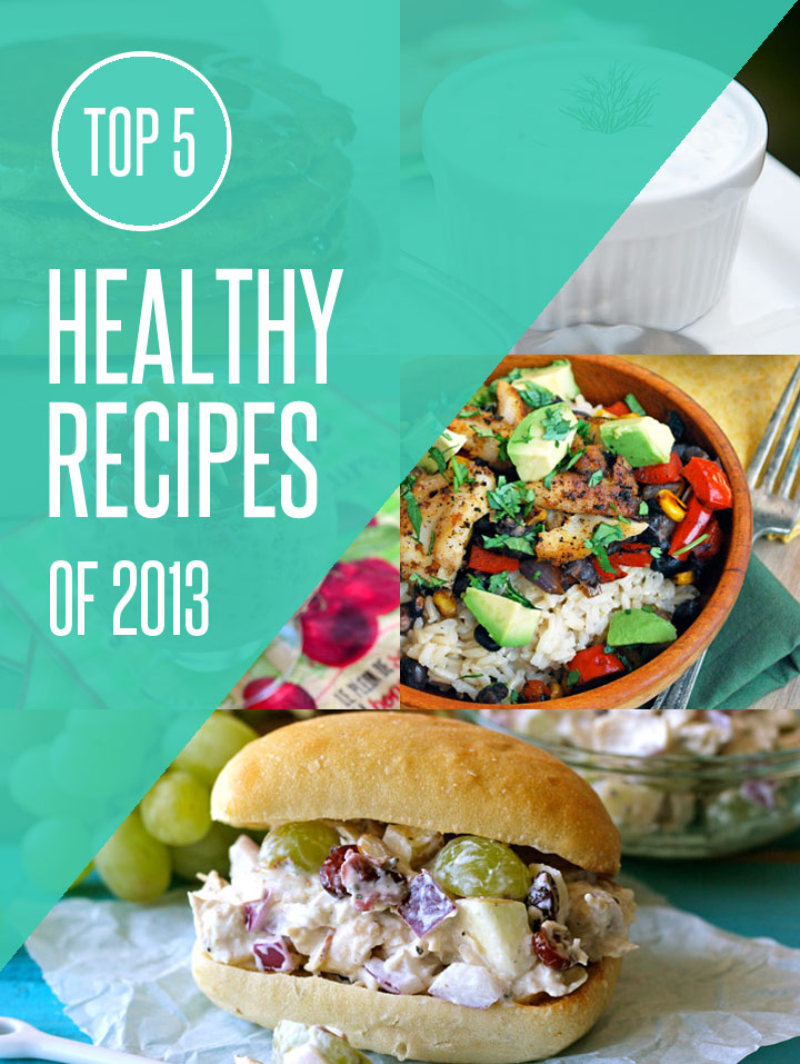 Top 5 Healthy Recipes of 2013 on NoshOn.It