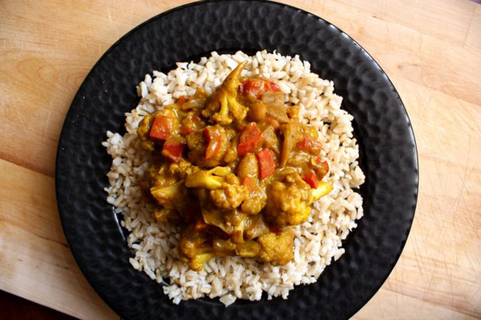African Vegetarian Curry