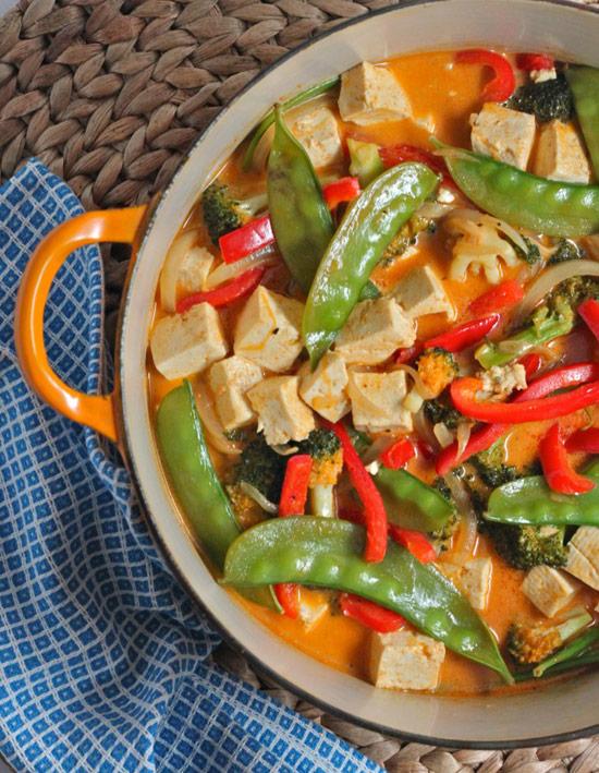Vegan Red Thai Curry