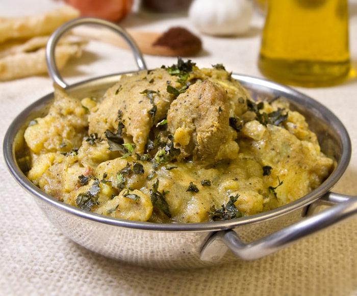 Trinidadian Chicken Potato Curry