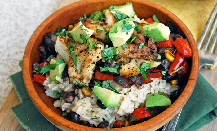 Fish Taco Bowls Recipe