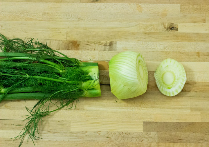 A Step by Step Guide for How to Cut Fennel