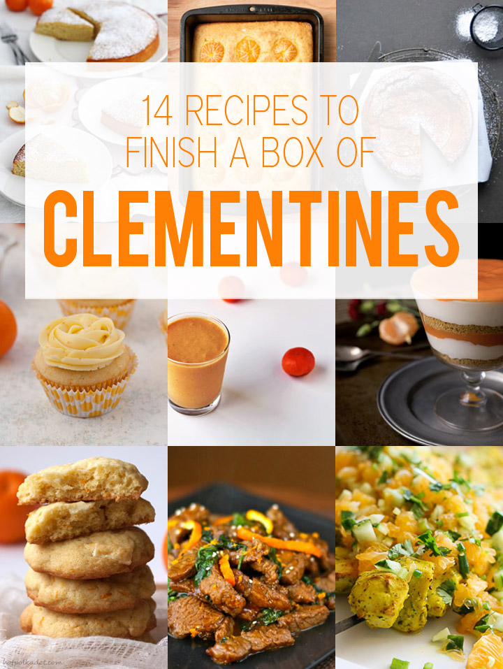 14 Recipes to Help You Finish a Box of Clementines