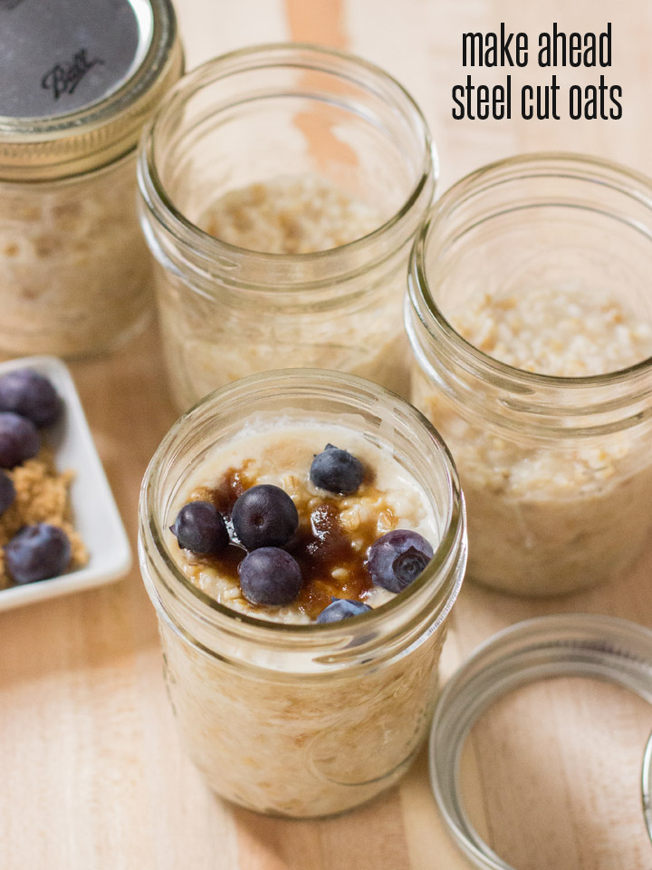 How to Make Ahead Steel Cut Oats for Breakfast All Week