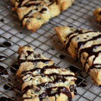 Flawless Flaky Scones with Chocolate Chips