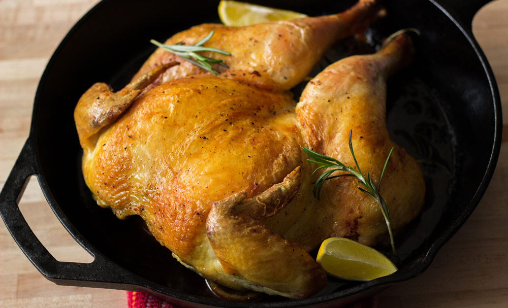 How To Make: Our Perfect Spatchcocked Roast Chicken | Blog | NoshOn.It