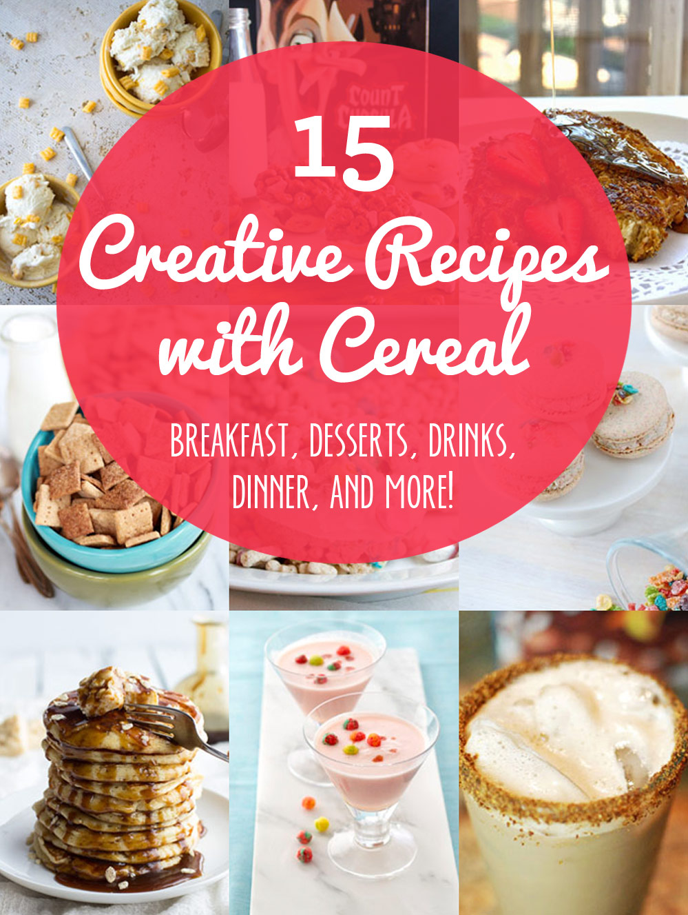 15 Creative and Crazy Recipes Using Cereal