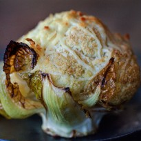 Whole Roasted Cauliflower With Herbs And Parmesan Recipe