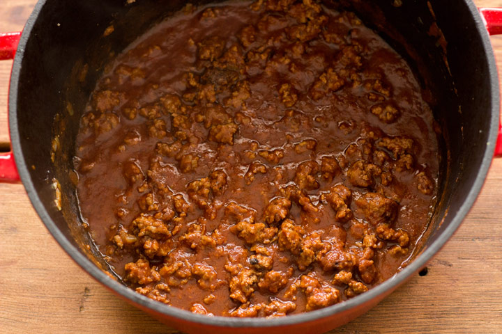 Meat sauce for pastitsio