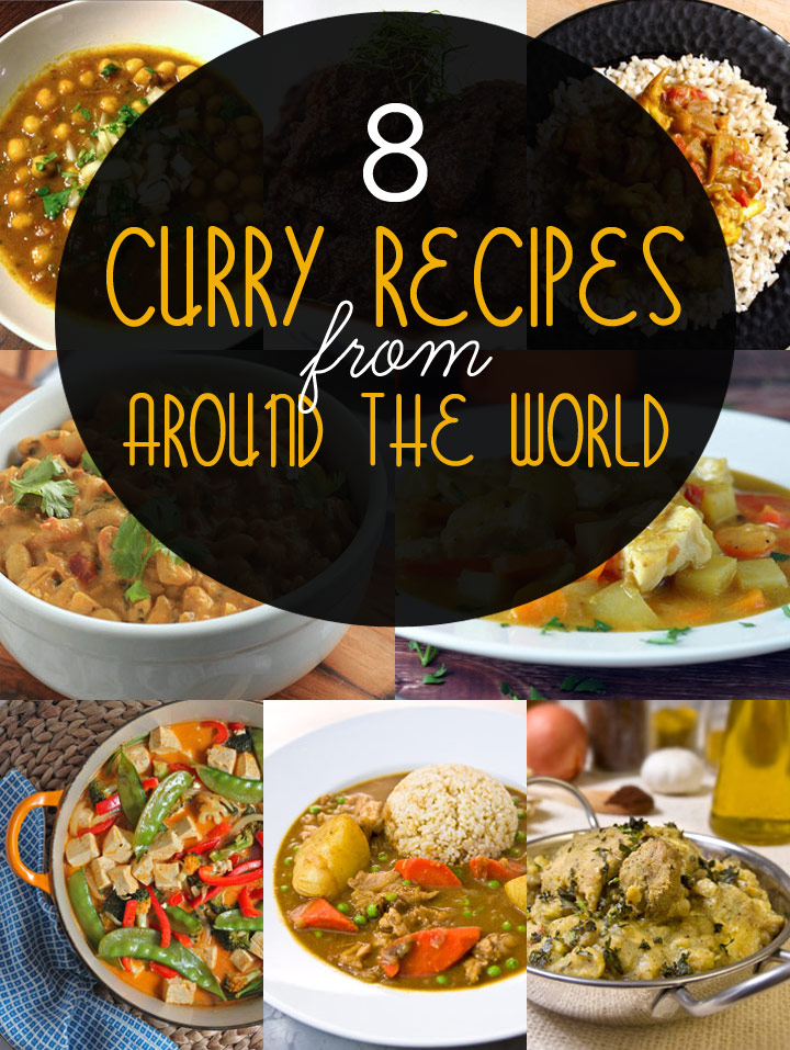 8 Authentic Curry Recipes from Around the World