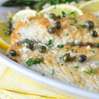 Fish Piccata with Barramundi