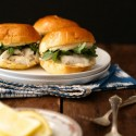 Barramundi Sliders with Lemon Saffron Aioli
