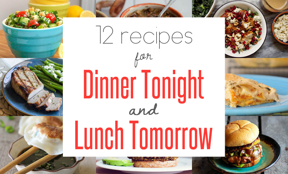 easy leftover recipes for dinner tonight lunch tomorrow