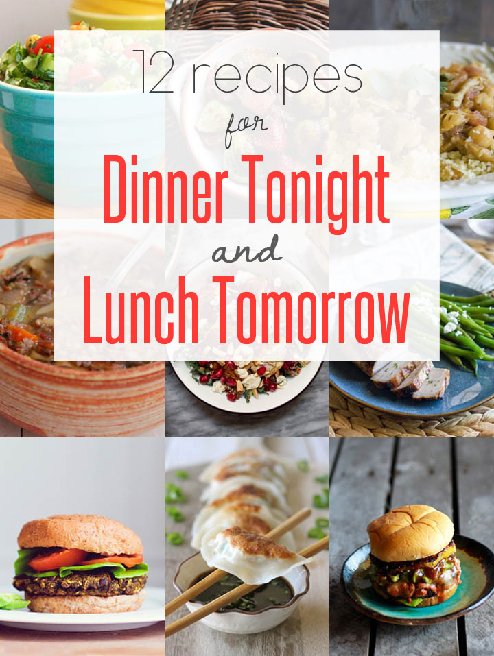 Easy leftover recipes for dinner tonight lunch tomorrow for What can i make for dinner tonight