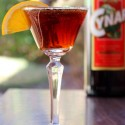 The Cin Cyn Cocktail - a variation of the Negroni with Cynar instead of Campari