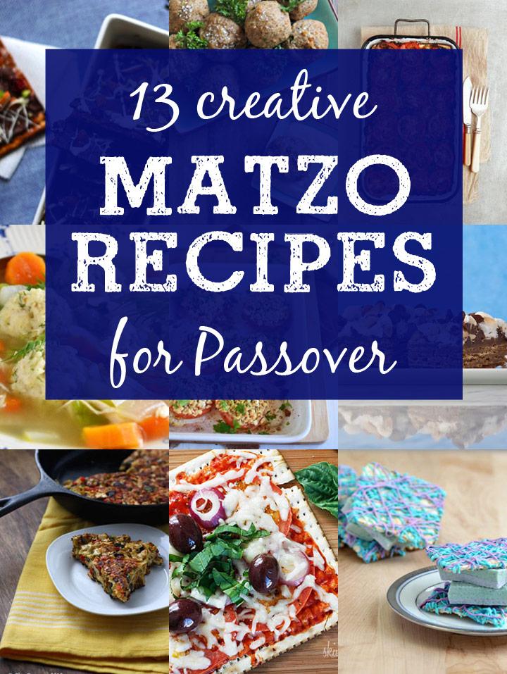 12 Creative Matzo Recipes for Passover