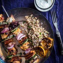 Moroccan Fish Skewers with Barramundi