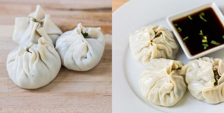 How to Make Purse Shaped Dumplings