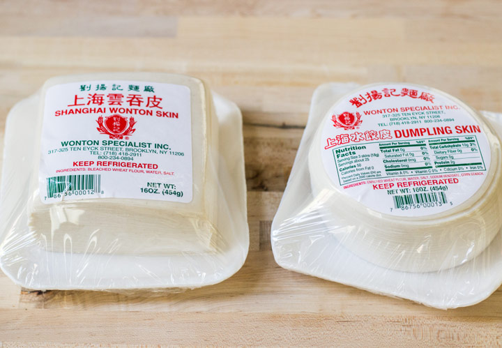 Different Kinds of Dumpling Wrappers