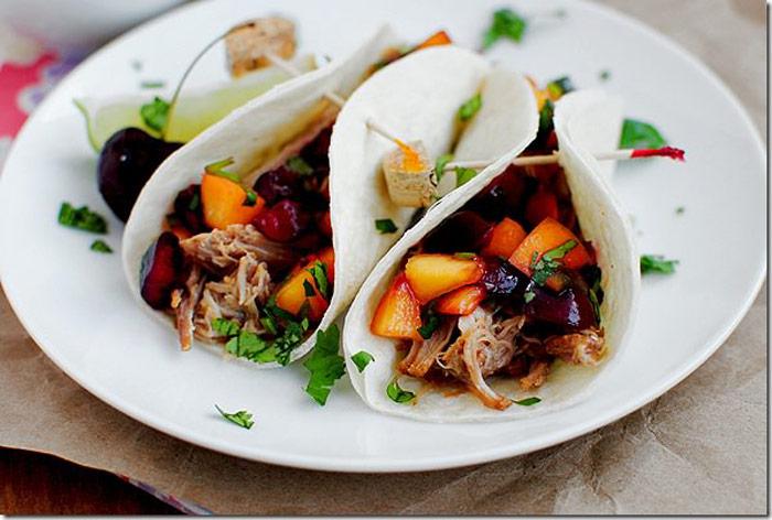 Crock Pot Beef Tacos In Soft Tortilla Bread Recipes — Dishmaps
