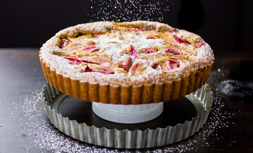 ... and Brown Butter Custard Tart with Almond Crust | Recipes | NoshOn.It
