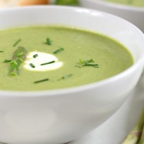 Creamy Spring Vegetable Soup