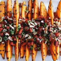 2014-06-05-Grilled-Sweet-Potatoes-with-Cherry-Salsa-and-Quinoa