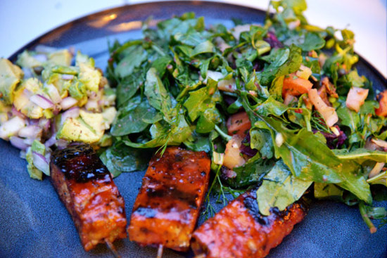 Instead of BBQ pork ribs, make these BBQ Tempeh Ribs