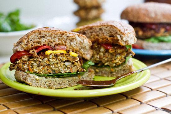 Or this Perfect Veggie Burger