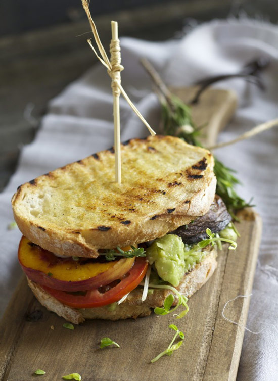 2014-06-06-9-grilled-portobello-and-peach-sandwich | NoshOn.It