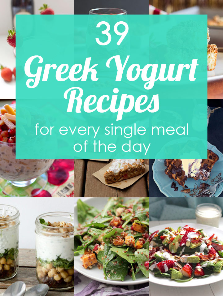 39 greek yogurt recipes for every meal of the day blog noshon 39 greek yogurt recipes for breakfast lunch dinner dessert and snacking forumfinder Gallery