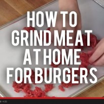How to Grind Your Own Meat at Home for Hamburgers (and Why You Should)