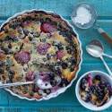 Blueberry Strawberry Clafoutis Recipe