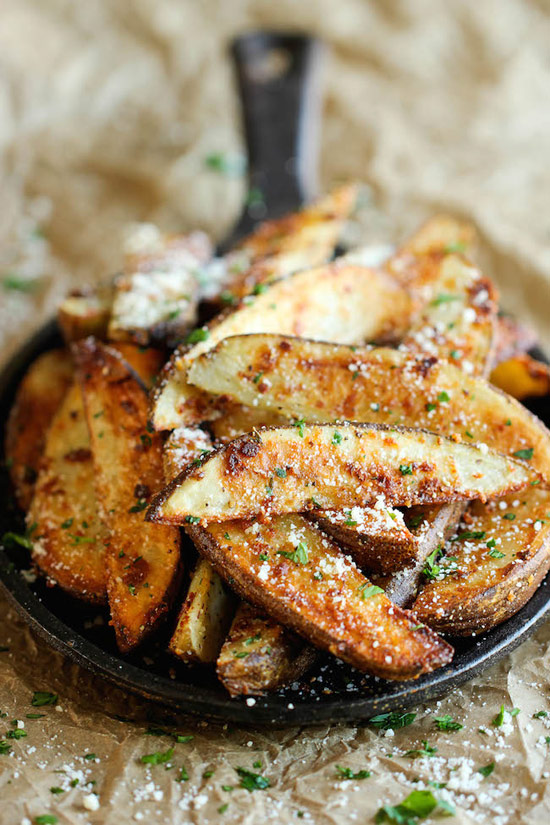 Garlic Parmesan Fries