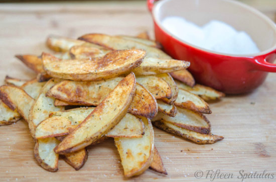 Thick-cut Garlic Herb Steak Fries