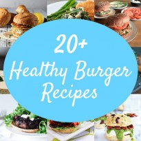 25 Healthy Burger Recipes