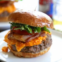 Pork Belly Pimento Cheese Burger