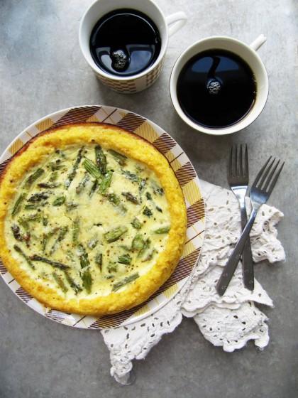 Creamy Asparagus Quiche