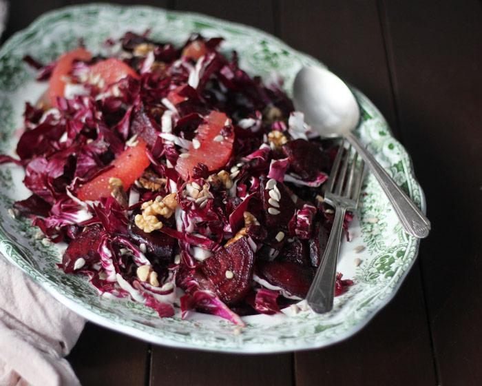 Ruby Red Radicchio Salad
