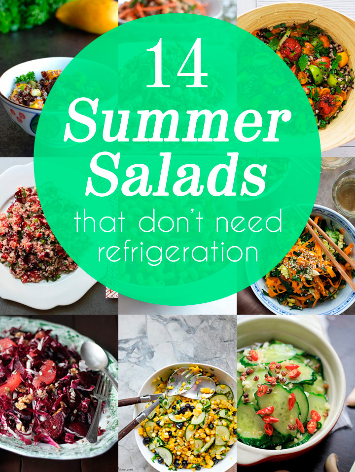 14 Summer Salads That Don't Need Refrigeration - Perfect for Picnics!
