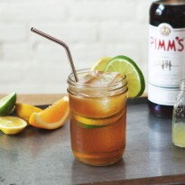 How to Make a classic Pimm's Cup Cocktail - with three kinds of citrus, this is the perfect summer refresher!