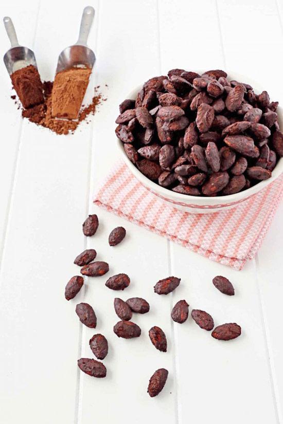Roasted Cocoa Espresso Almonds
