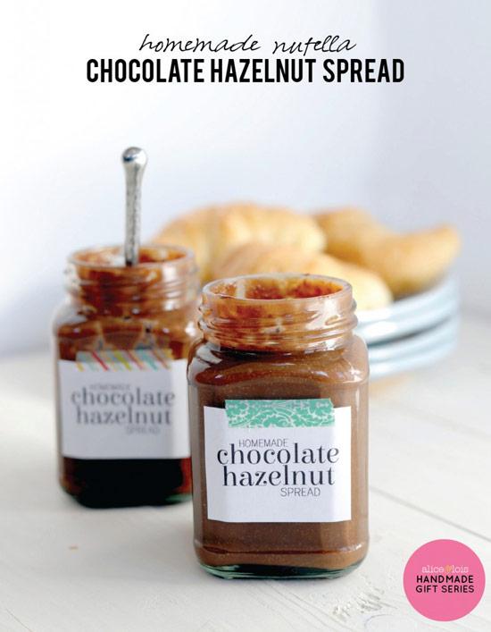 spread almond joy chocolate spread homemade chocolate hazelnut spread ...