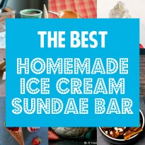 How To: The Best Homemade, DIY Ice Cream Sundae Bar
