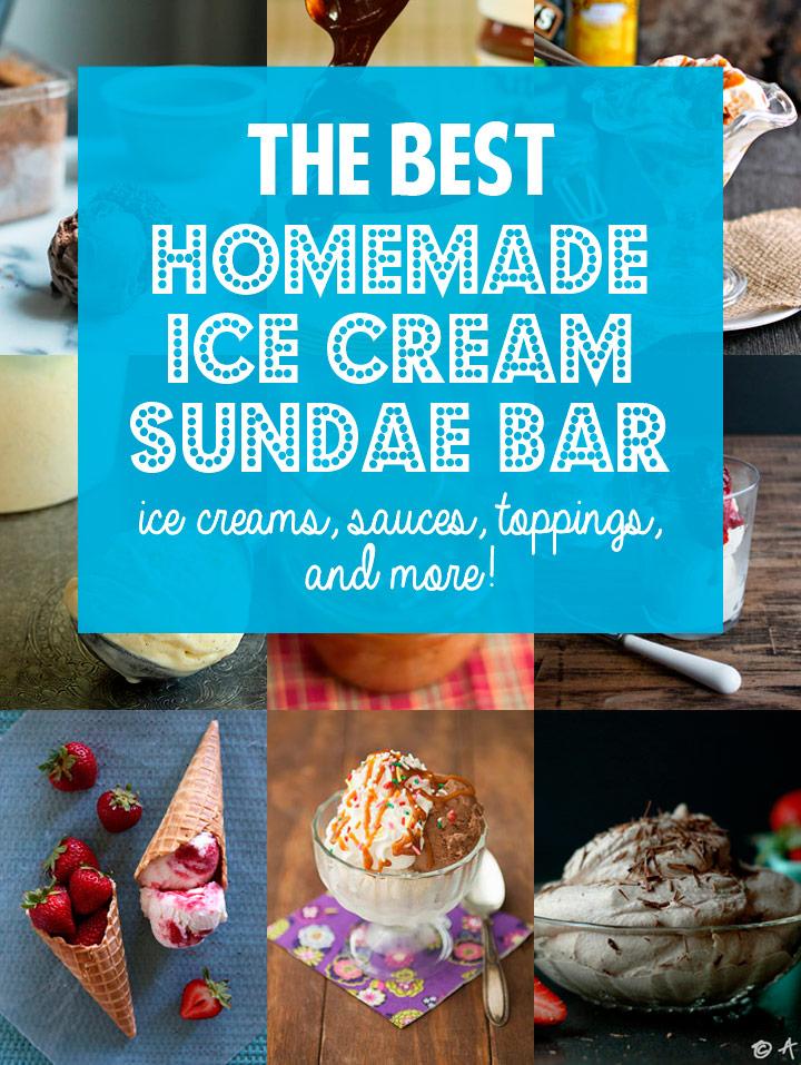 How To The Best Homemade Ice Cream Sundae Bar Blog Noshon It
