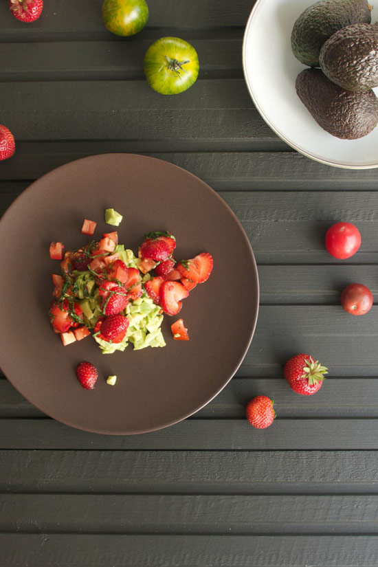 "Basil & Strawberry ""Guacamole"