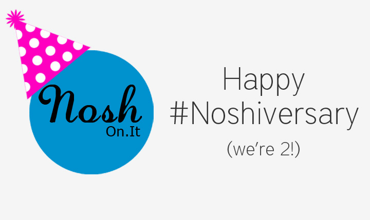 Celebrating our 2 Year #Noshiversary!
