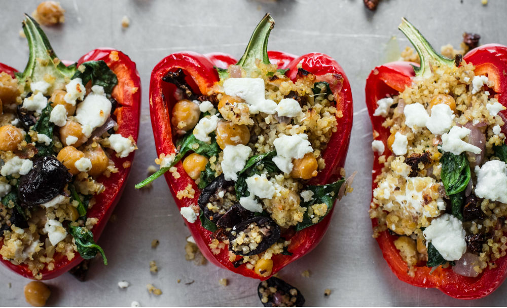 stuffed pepper greek style stuffed peppers greek style stuffed peppers ...