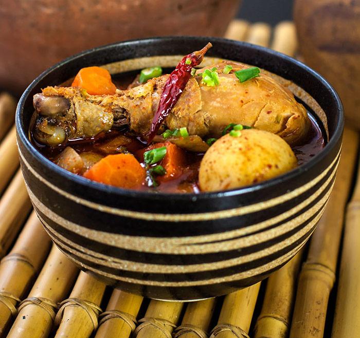 Spicy Korean Gochujang Chicken Stew